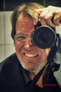Christoph Handrack als Fotograf bei der Arbeit