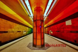 Munich Underground - U-Bahn in München