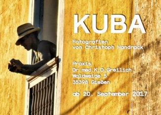 Fotoausstellung in der Arztpraxis: Kuba , die Zweite