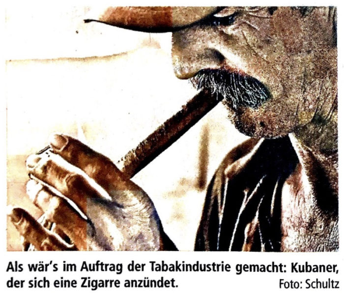 Titelfoto zum Presseartikel zur Kuba-Ausstellung